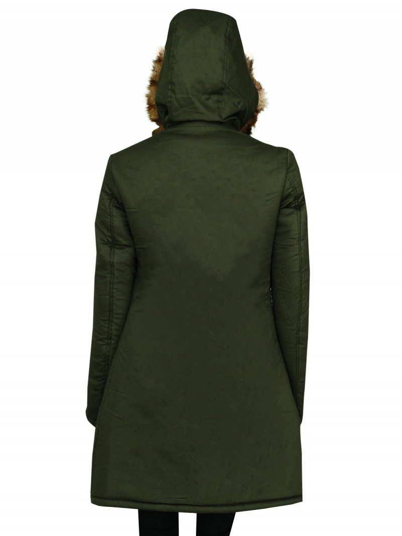 Anna Friel TV Series Marcella Hood Coat