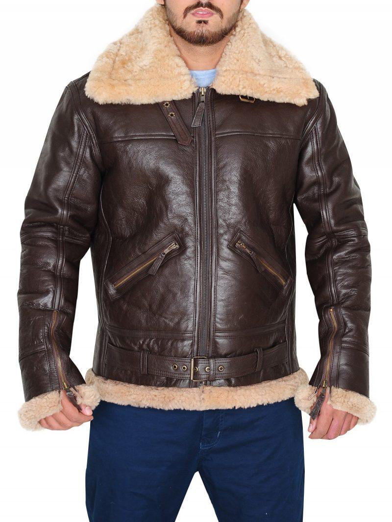 B3 RAF Shearling Bomber Jacket