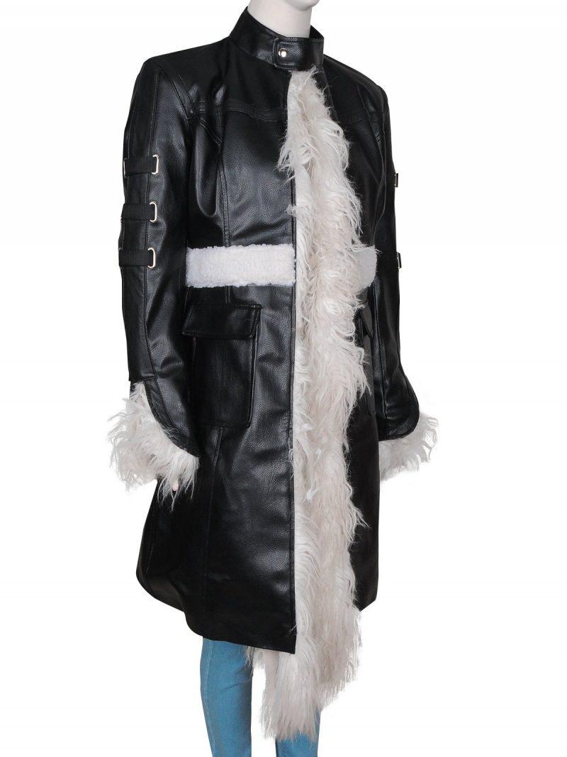 Selena Gomez Fur Coat