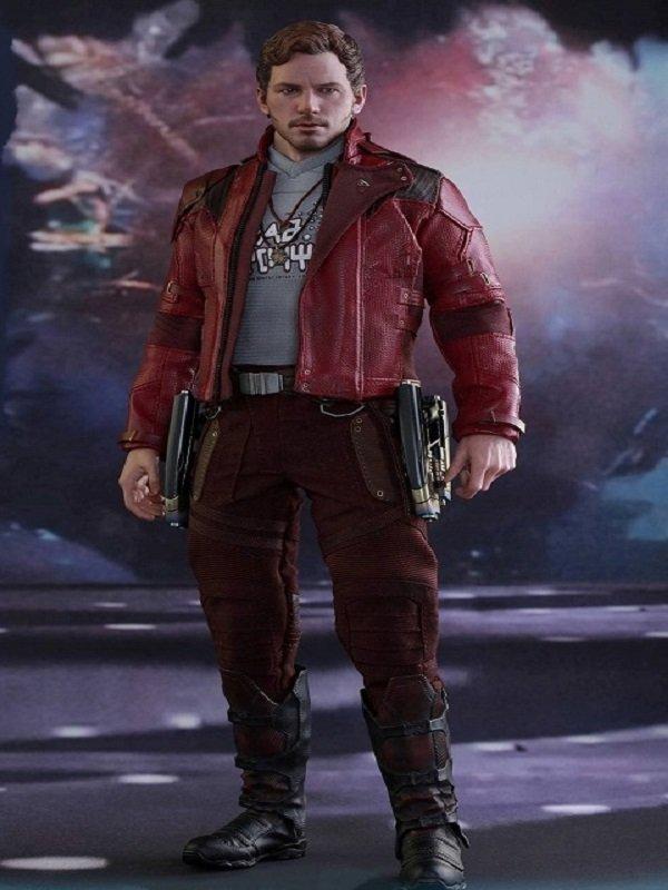 Chris Pratt Galaxy Vol 2 Costume Jacket