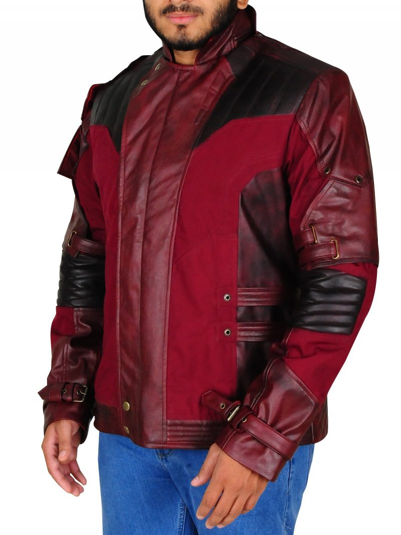 Star-Lord Cosplay Leather Jacket