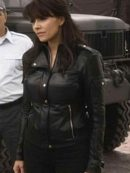 Dr Helen Magnus Sanctuary Leather Jacket
