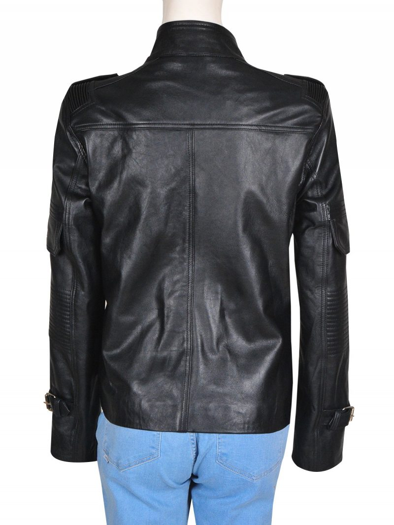 Dr Helen Magnus Sanctuary Black Leather Jacket