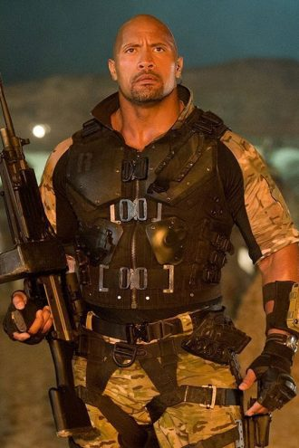 Dwayne Johnson Armor Vest