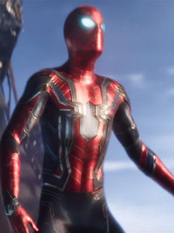 Sider Man Infinity War Tom Holland Armor Costume