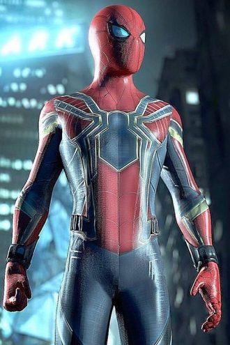 Sider Man Infinity War Tom Holland Armor Jacket