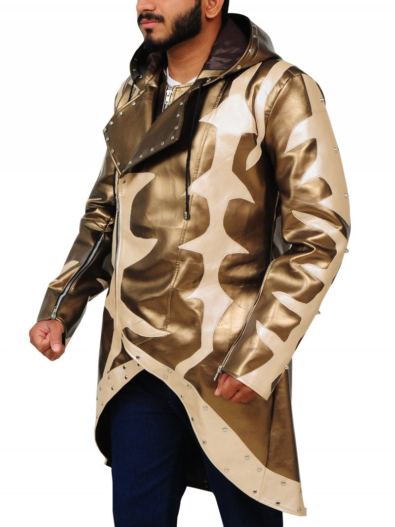American Professional Wrestler Goldust Golden Hoodie Coat