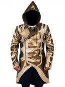WWE Wrestler Goldust Hoodie Leather Coat