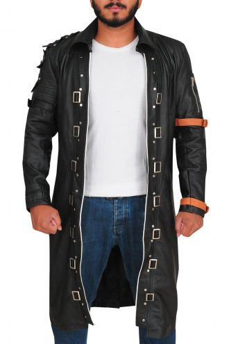 Playerunknown's Battlegrounds PUBG Leather Coat
