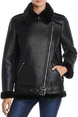 Lesley-Ann Brandt Lucifer Series Mazikeen Shearling Jacket