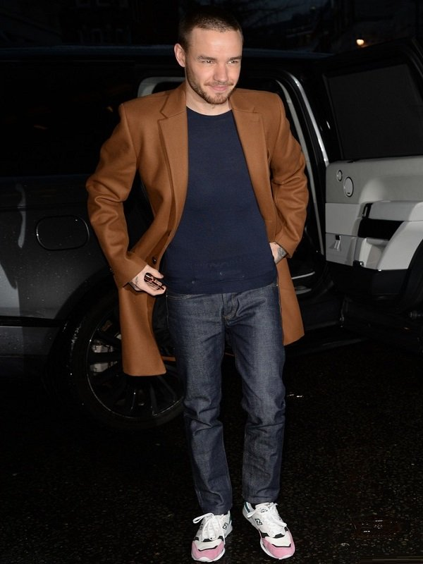 Liam Payne Street Fashion Trench Coat