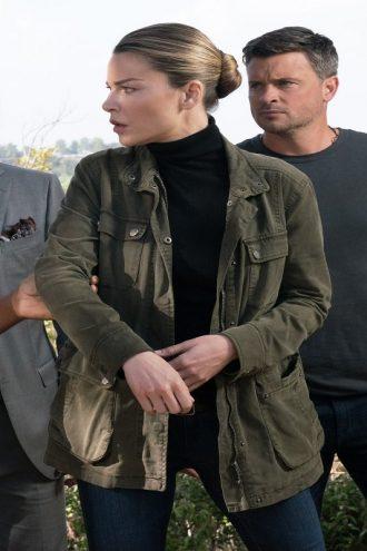 Lucifer Series Lauren German Army Green Jacket