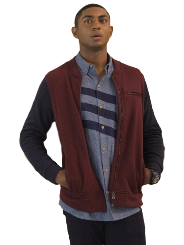 Steven Silver 13 Reasons Why Marcus Cole Jacket