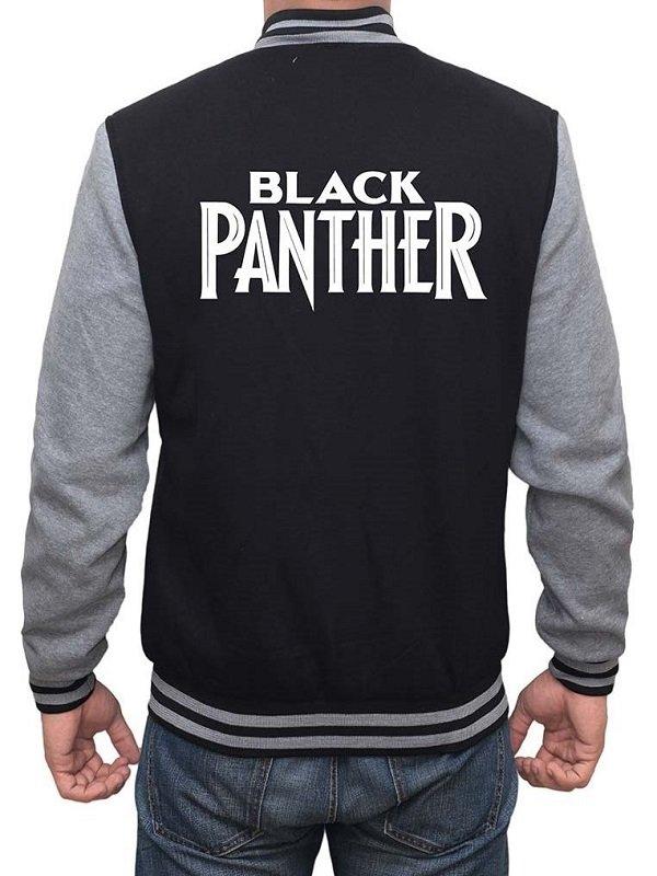 Black Panther Men Varsity Jacket