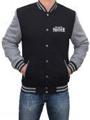 Black Panther Movie Logo Varsity Jacket