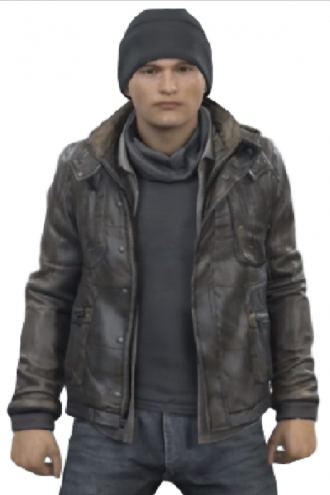 Detroit Become Human Connor Hoodie Jacket