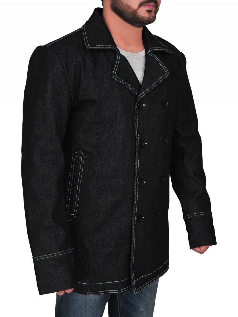 Kim Bodnia Killing Eve Double Breasted Coat