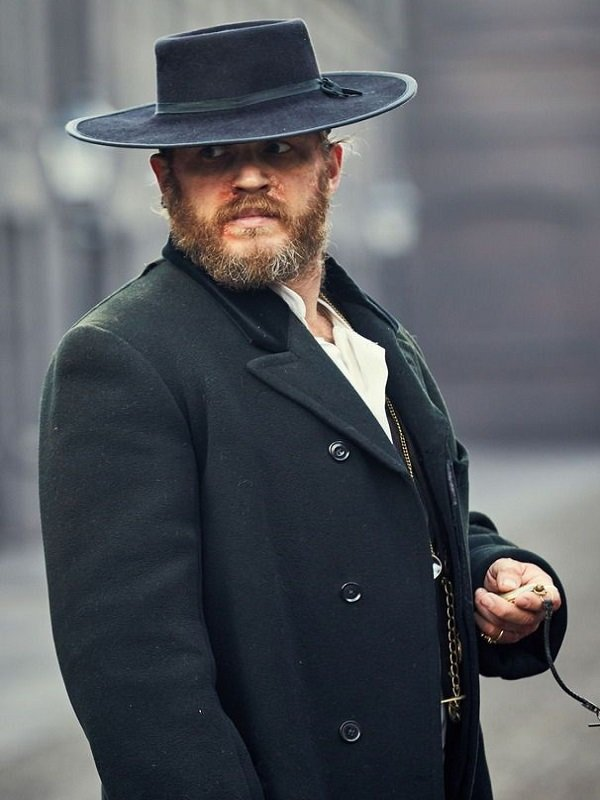 British TV Series Peaky Blinders Tom Hardy Coat