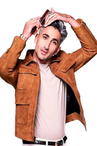 Tan France Queer Eye Brown Jacket
