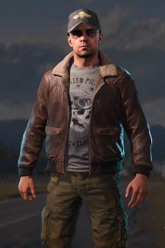 Far Cry 5 Aviator Cosplay Jacket