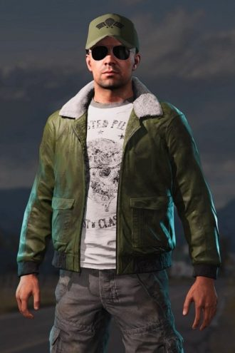 Far Cry 5 Mayday Leather Outfit Costume