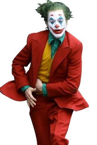 Joaquin Phoenix Joker Red Coat