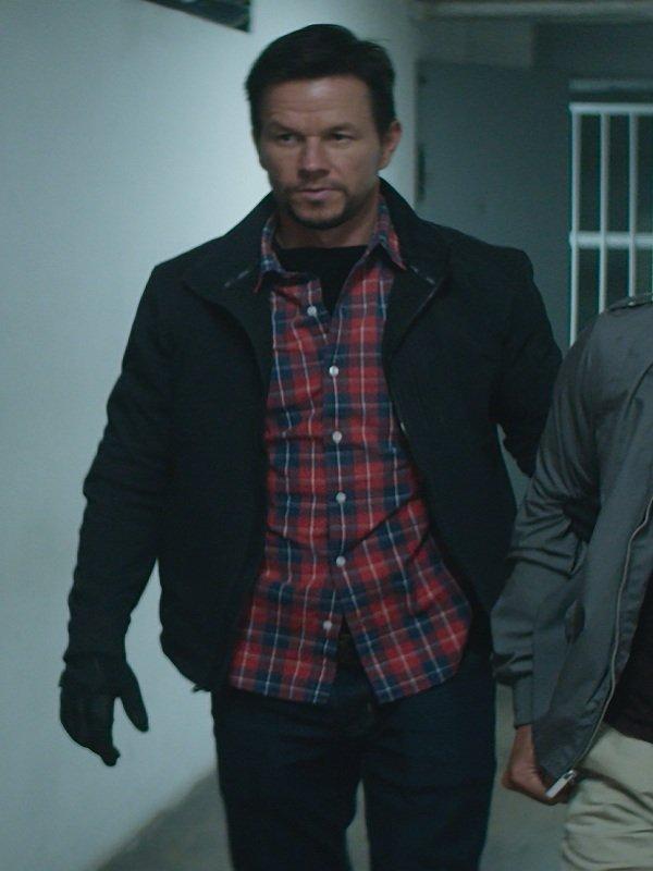 Mile 22 Mark Wahlberg Black Jacket