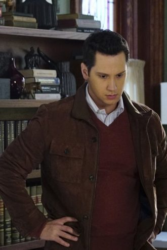 Matt McGorry Brown Suede Brown Leather Jacket