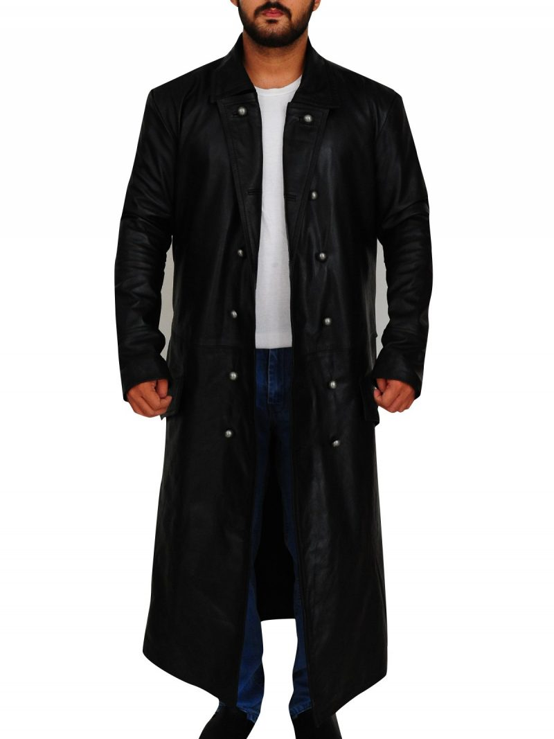 German Officer Trench Coat