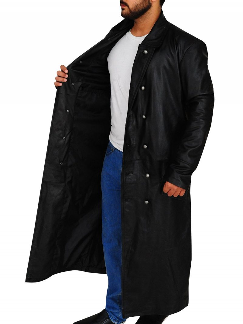 German Classic Officer Trench Coat