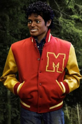 Thriller Michael Jackson Letterman Jacket