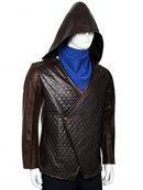 Taron Egerton Robin Hood Quilted Jacket