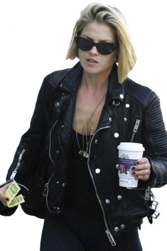 Ali-Larter-Padded-Design-Biker-Leather-Jacket