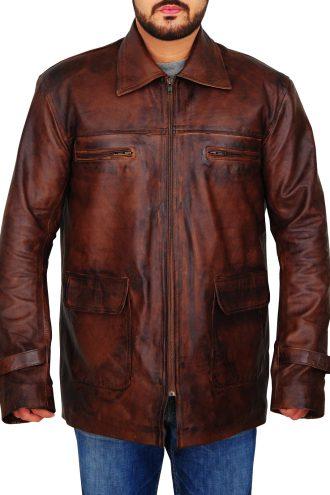 Tuvia Bielski Daniel Craig Defiance Leather Jacket