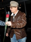 American Actor Johnny Depp Leather Jacket