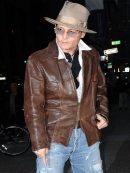 Johnny Depp Distressed Jacket