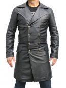 Sweeney Todd Johnny Depp Leather Coat