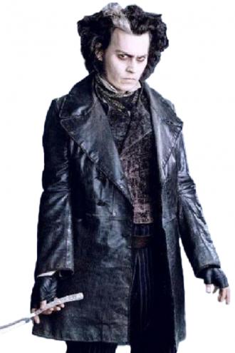 Johnny Depp Sweeney Todd Leather Coat