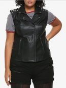 South Side Serpents Riverdale Leather Vest