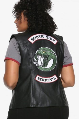 Southside Serpents Biker Studd Vest