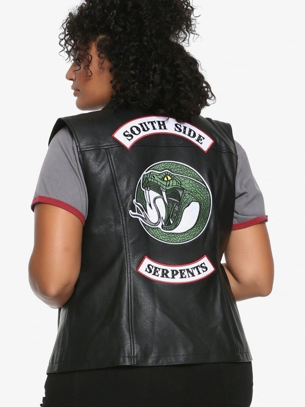 Southside Serpents Biker Studd Vest