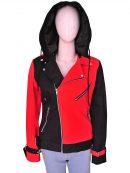 Suicide Squad Harley Quinn Cosplay Hoodie Jacket