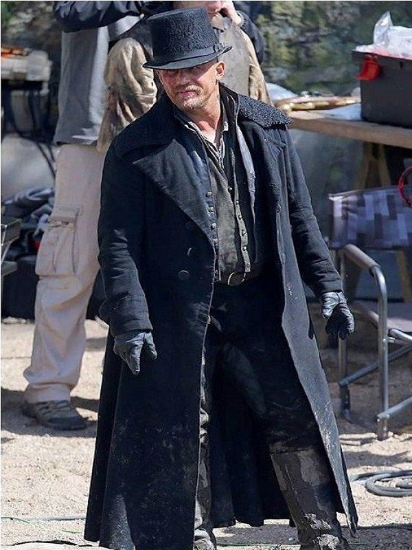 Taboo Tv Series Tom Hardy Coat For Man