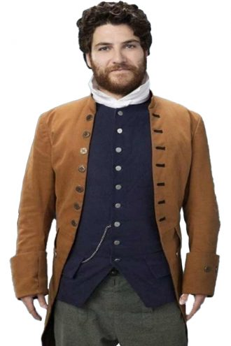 Adam Pally Making History Dan Brown Coat