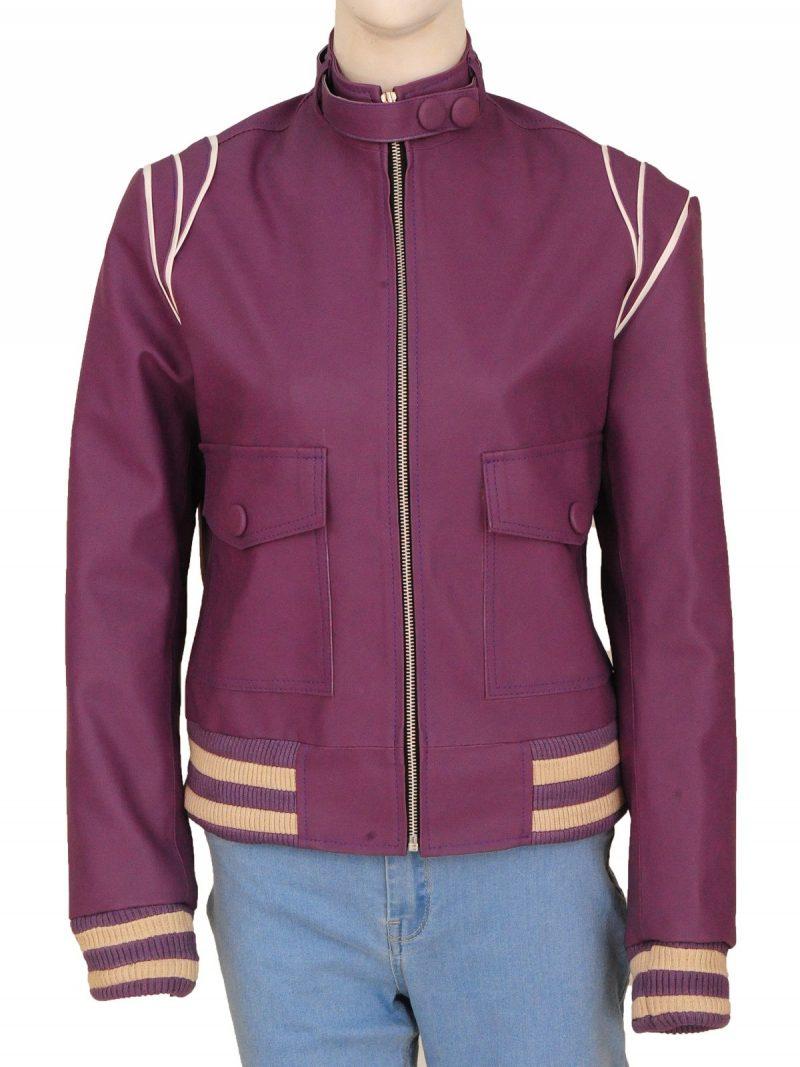 Glow Ruth Wilder Leather Jacket