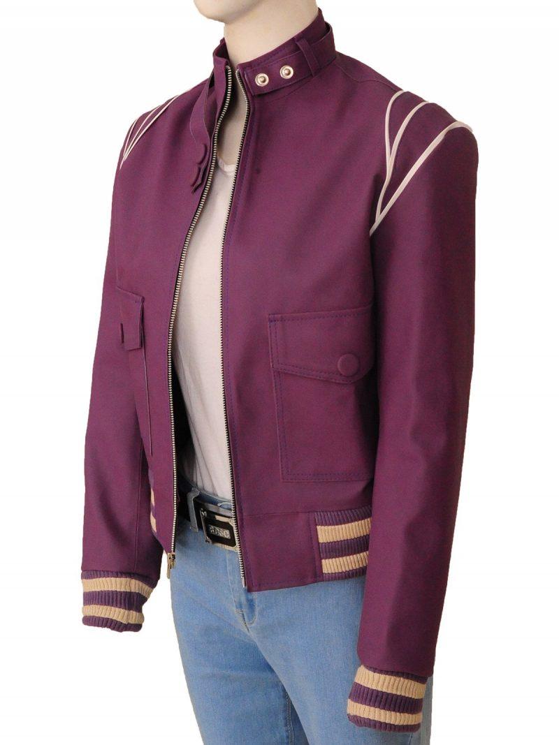 Glow Alison Brie Purple Jacket