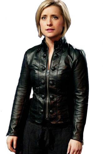 Allison Mack Smallville Leather Jacket
