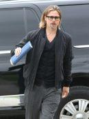 Brad Pitt Stylish Bomber Jacket