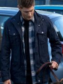 Jensen Ackles Supernatural Stylish Blue Jacket