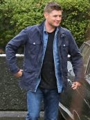 Supernatural Jensen Ackles Blue Jacket